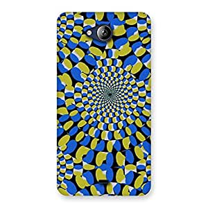 Special Classic Illusion Back Case Cover for Canvas Play Q355