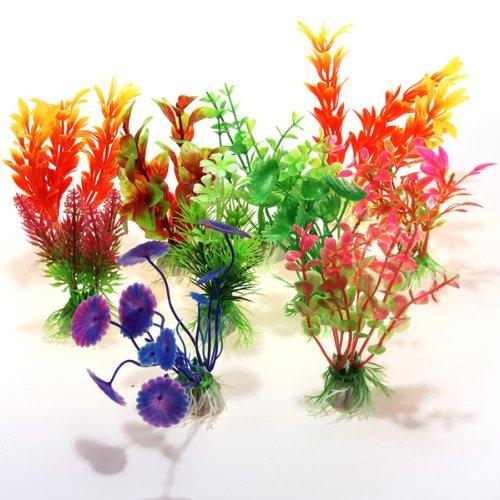 10x-Wasserpflanzen-Kuenstliche-Aquarium-Pflanzen-Pflanze-10er-Set-Deko-Fisch-Tank