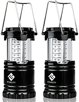 2-Pack Etekcity Portable Outdoor LED Camping Flashlights