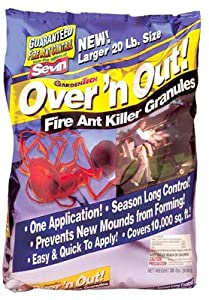 Over 'N Out Advanced Fire Ant Killer Granules, 23-Pound