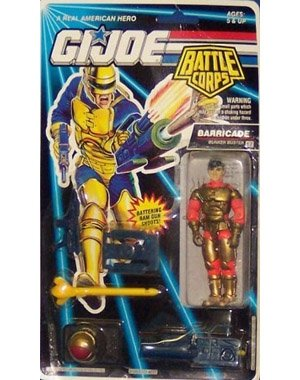 G.I. Joe Battle Corps Barricade Action Figure