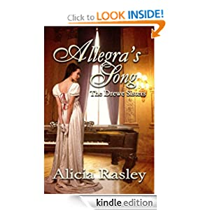 Allegra's Song, A Regency Novella (The Drewe Sisters)