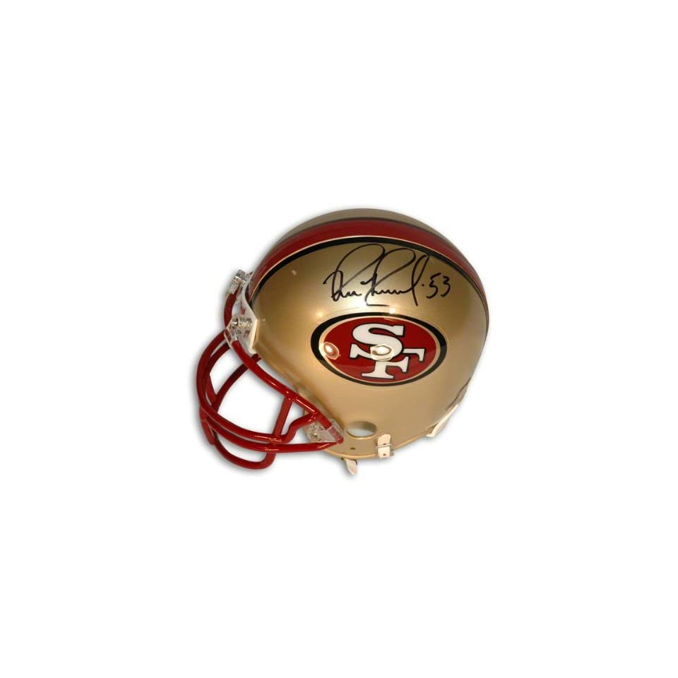 Bill Romanowski Autographed San Francisco 49Ers Mini Helmet
