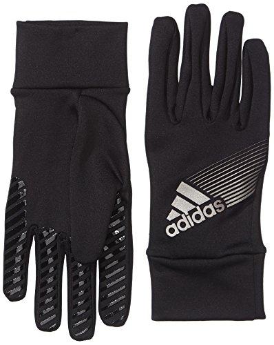 Adidas - Guanti invernali Fieldplayer da adulto, Nero (Grigio chiaro/nero), 10