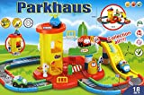 Brigamo Spiele 495 - großes XL Spielzeug Parkhaus für Kinder inkl. vier Autos thumbnail