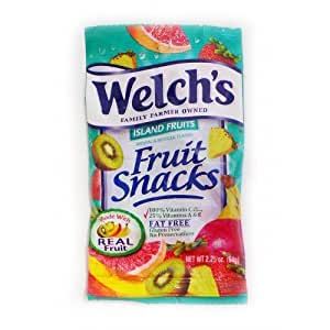 what fruits are healthy are welchs fruit snacks healthy