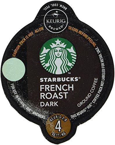 Starbucks Dark French Roast Coffee Keurig Vue Portion Pack, 32 Count (Vue Starbucks French Roast compare prices)