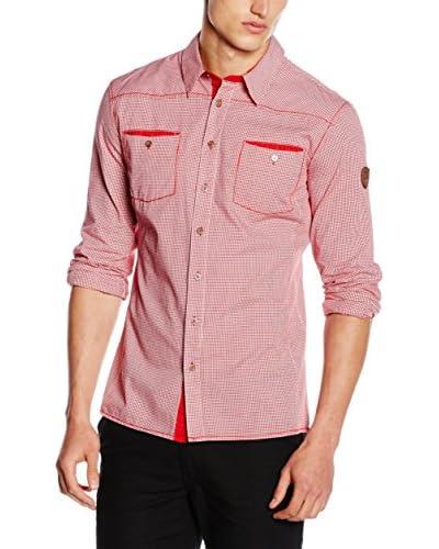 Northland Professional Camicia Uomo Graslilie [Rosso]