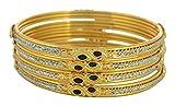 Ishita Fashions Gold Metal Bangle for Women