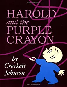 Harold and the Purple Crayon 50th Anniversary Edition (Purple Crayon Books) by HarperCollins
