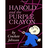 Harold and the Purple Crayon 50th Anniversary Edition (Purple Crayon Books) ~ Crockett Johnson