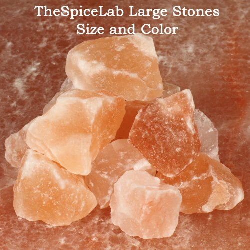 Sole Original Himalayan Natural Salt Rocks (1 kilo 2.2lbs) - Imported by TheSpiceLab Inc.