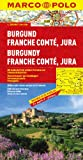 MARCO POLO Karte Burgund, Franche Comté, Jura (Marco Polo Maps)