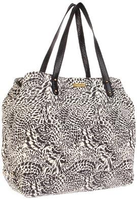 (大牌) 瑞贝卡 Rebecca Minkoff Cherish Tote,Zebra 女款手提袋 $169.55