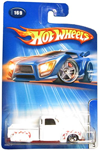 #2005-169 La Troca White 5-Spoke Collectible Collector Car Mattel Hot Wheels - 1