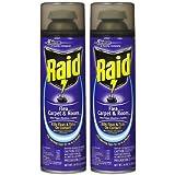 Raid Flea Killer Plus, Carpet & Room Spray, 16 oz-2 pk (Tamaño: Pack - 2)