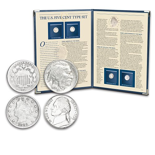 The U.S. Five Cent Coins Type Set