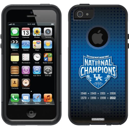 Great Sale Kentucky - Champions Court design on a Black OtterBox® Commuter Series® Case for iPhone 5s / 5
