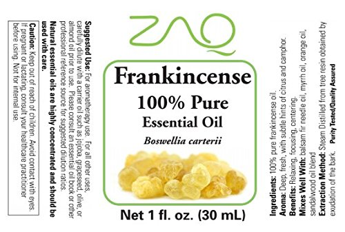 ZAQ 100% Pure Frankincense Therapeutic Grade Essential Oil, 1 Ounce