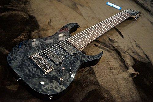 Ibanez アイバニーズ RG9QM-BI 9弦エレキギター