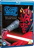Star Wars: The Clone Wars - The Complete Season Four [Blu-ray] [2012] [Region Free]
