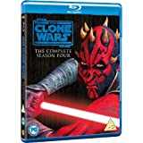 Star Wars: The Clone Wars - The Complete Season Four [Blu-ray] [2012] [Region Free]by Various