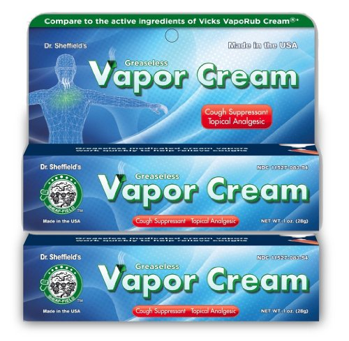 Dr. Sheffield's Greaseless Vapor Cream Cough
