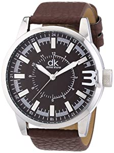 dk daniel khone Herren-Armbanduhr XL Young Man Analog Quarz Kunstleder DKGA-90471-81L