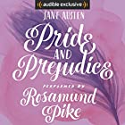 Pride and Prejudice Audiobook by Jane Austen Narrated by Rosamund Pike