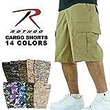 (ロスコ) ROTHCO / B.D.U MILITARY CARGO SHORTS 14COLORS B.D.U ミリタリー カーゴ ショーツ 全14色 (XS, ACU DIGI CAMO/ACUデジタルカモ) [並行輸入品]