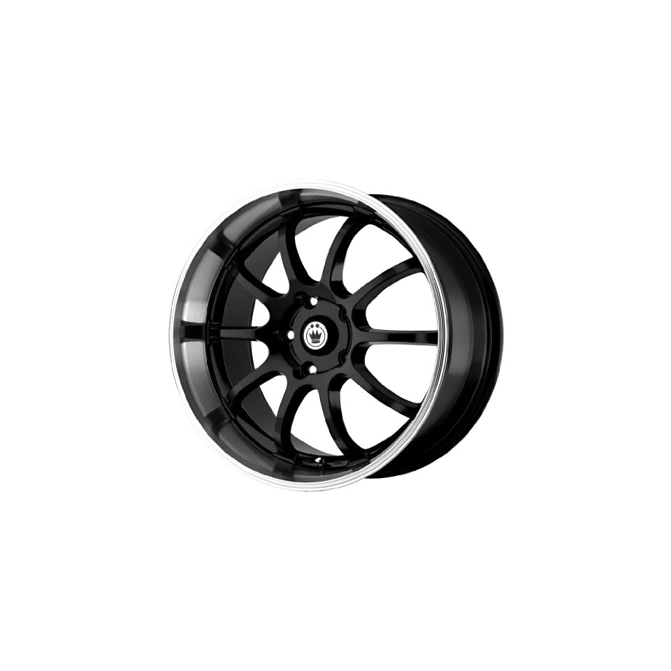 Konig Lightning Gloss Black Wheel with Machined Lip (18x8/5x114.3mm)