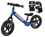 *Strider ST-4 Balance Bike with Elbow Pads & Knee Pads* (Blue)