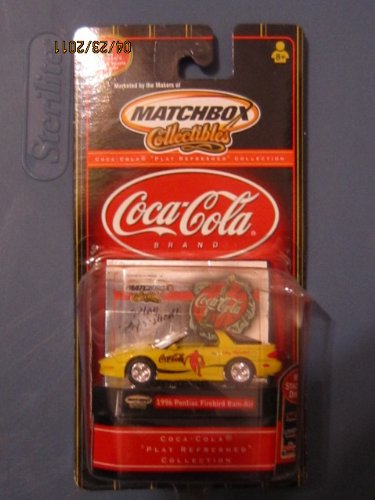 Matchbox Play Refreshed 1996 Pontiac Firebird Ram-Air