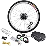 "36V 250W 26"" Front Wheel Electric Bicycle Light Motor Cycling Hub Conversion Kit"