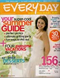 EVERYDAY WITH RACHAEL RAY AUGUST 2008 TORI SPELLING BABY SHOWER IDEAS NO BAKE DESSERTS!