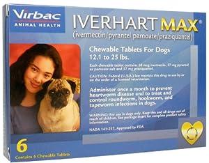 Iverhart Max (Magenta) - 6-12 lbs - 6 count