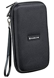 Caseling for Graphing Calculator Hard Carrying Travel Storage Case Bag - Black