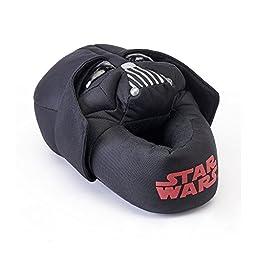 Star Wars Darth Vader Slippers (Medium (13-1), Black)