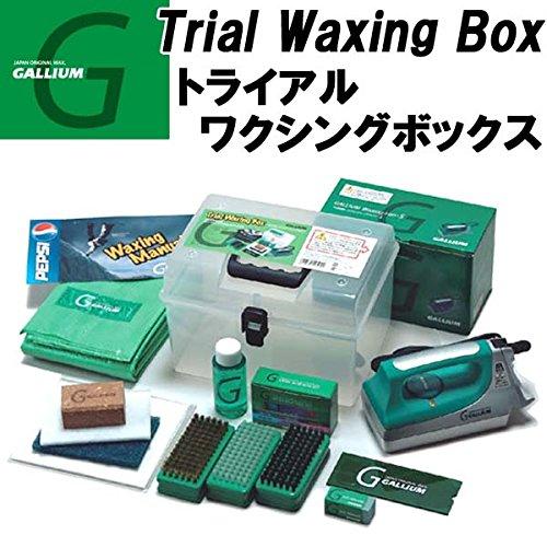 GALLIUM【ガリウム】 Trial Waxing BOX[トライアルワクシングボックス][JB0001]アイロン付 ホットワックスセット