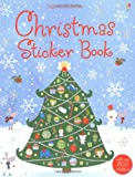 Fiona Watt Christmas Sticker Book (Usborne Sticker Books)