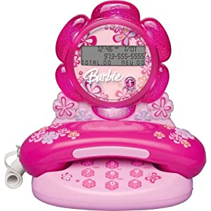 Emerson Barbie Blossom BAR550 Telephone with Caller ID $14.95