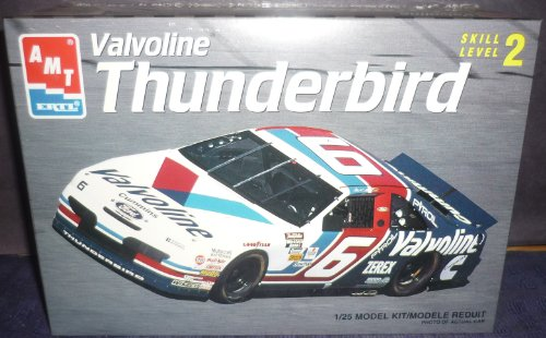 amt-ertl-valvoline-thunderbird-8189-skill-level-2-1-25-model-kit-car