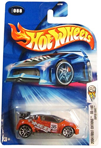 Hot Wheels 2004 First Editions Super Gnat 88/100 ORANGE 088 1:64 Scale - 1