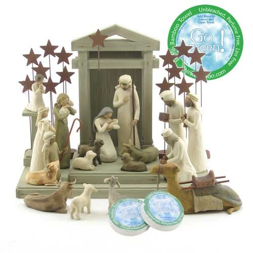 Willow Tree 21 Piece Nativity Set By Susan Lordi