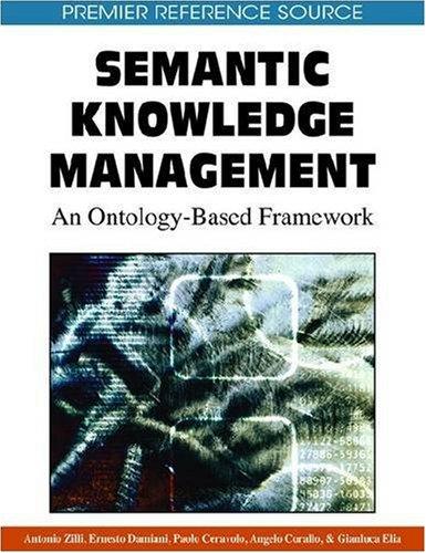 Semantic Knowledge Management: An Ontology-Based Framework