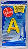 Hoover Filter Bags Type A Allergen Filtration 4010100 A (3 Packs Of 4) Total Of 12 Bags