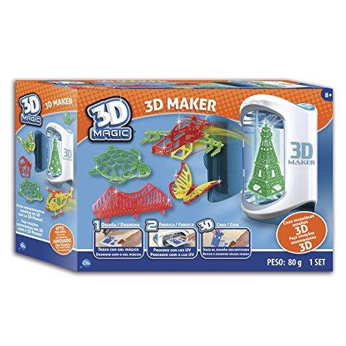 CIFE - Impresora mágica 3D, juego creativo (Irwin RX LTD 40104)