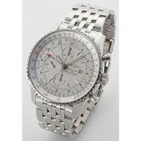 [ブライトリング]BREITLING 腕時計 ナビタイマー ワールド クロノグラフ シルバー A242G71NP メンズ [並行輸入品]