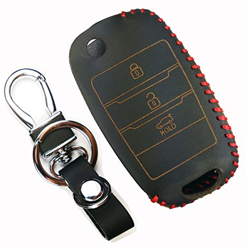 coolbestda-leather-flip-3-buttons-key-fob-cover-case-chain-protector-keyless-entry-holder-remote-con
