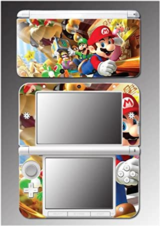 Super Mario Bros Brothers Party Luigi Video Game Vinyl Decal Cover Skin Protector #8 for Nintendo 3DS XL